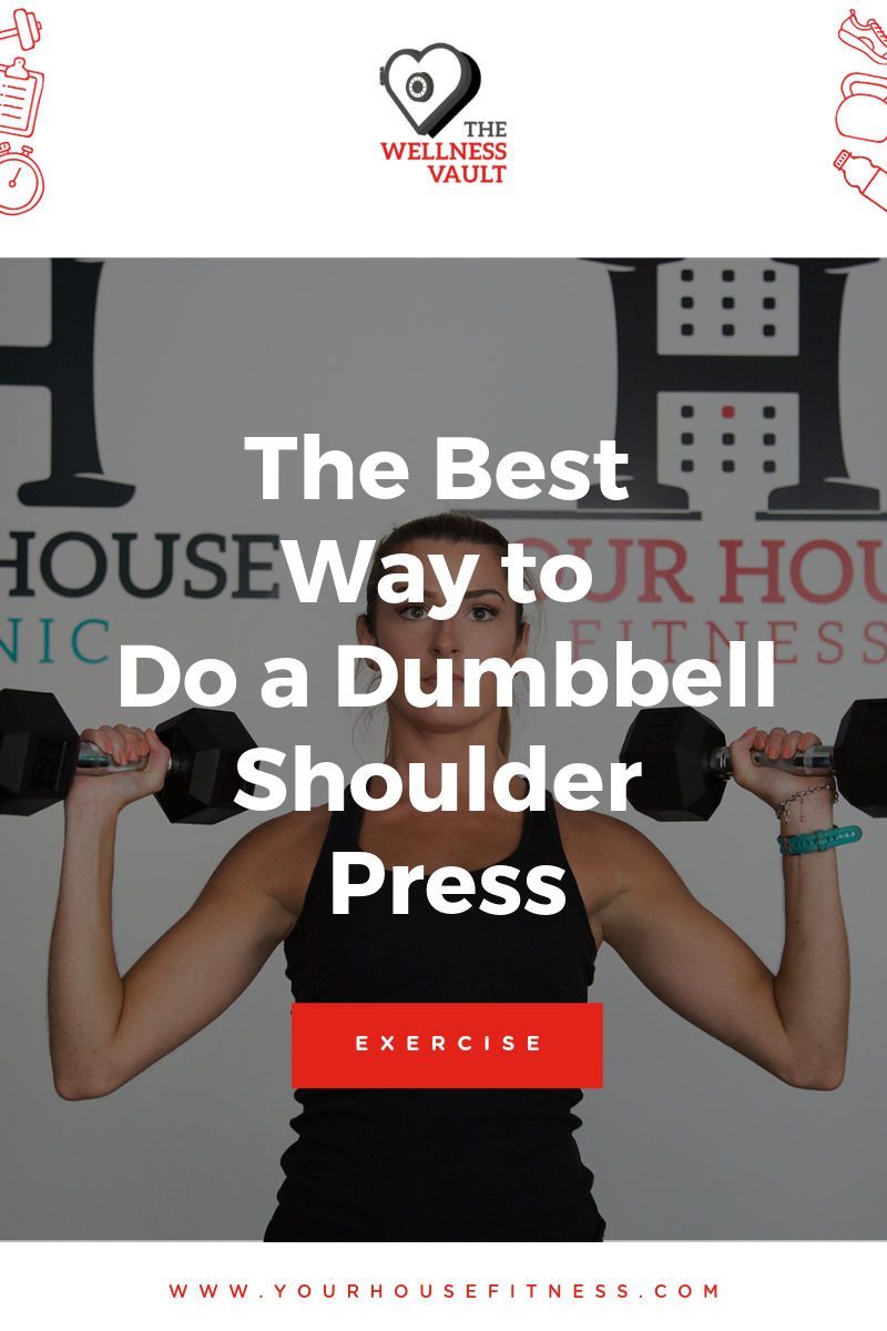 The Best Way to Do a Dumbbell Shoulder Press Picture