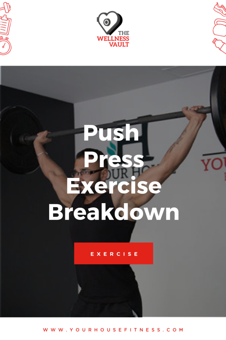Push Press Exercise Breakdown Picture