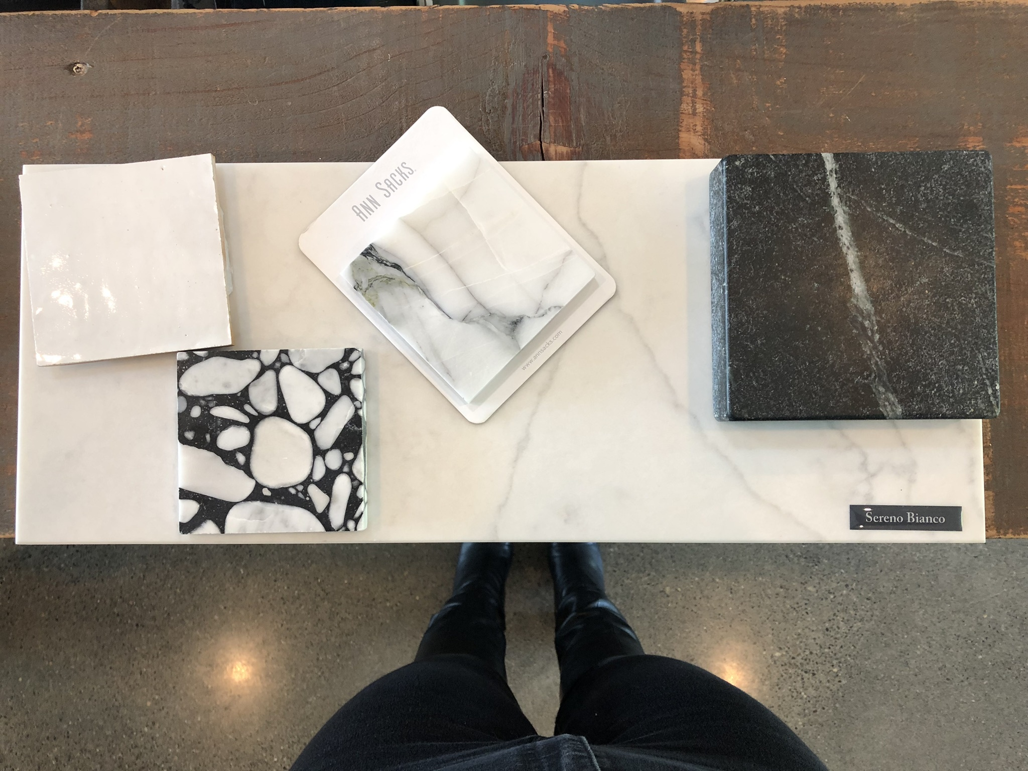 Then a starting palette for a master bathroom retreat… -