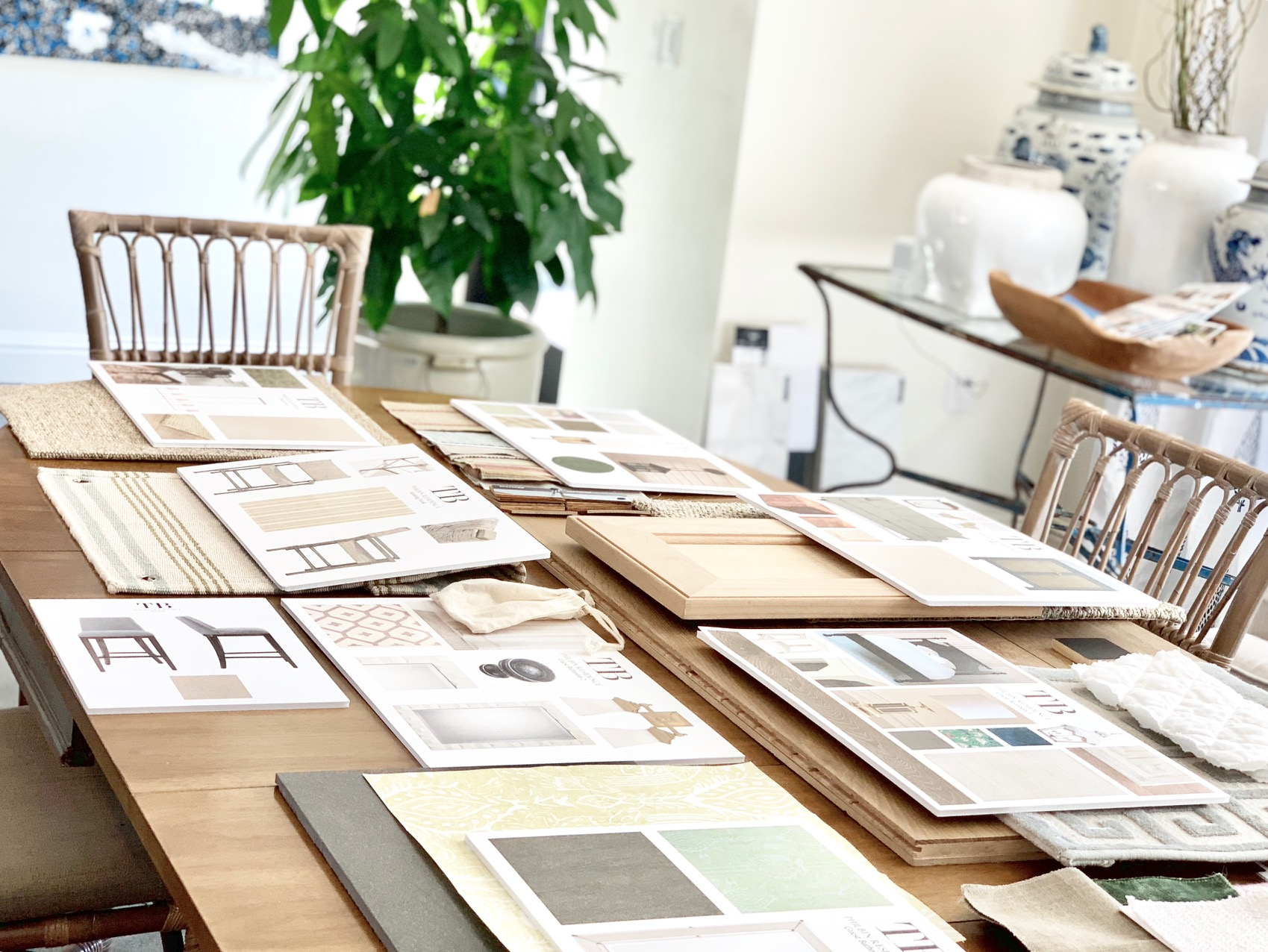 …Followed by furniture planning -