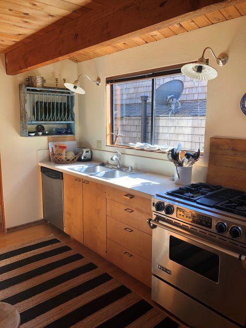 Kitchen Remodel In Sea Ranch, California