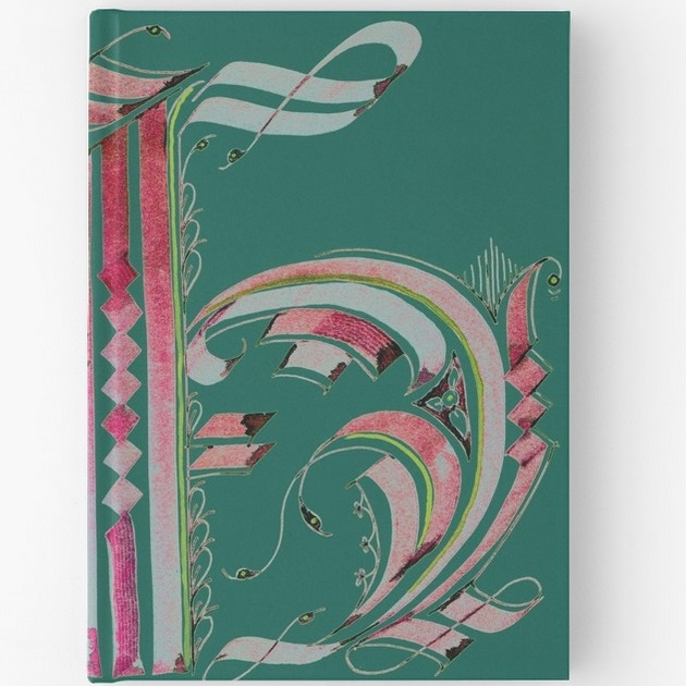 Hardcover Journal - 'Gothic H'
