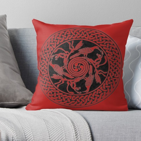 Throw Pillow - 'Kangaroo Paw'