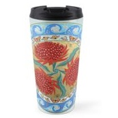 Travel Mug - 'Waratah Bouquet'
