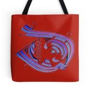 Tote Bag - 'Gothic D'