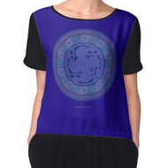 Celtic Key Mandala - Women's Chiffon Top