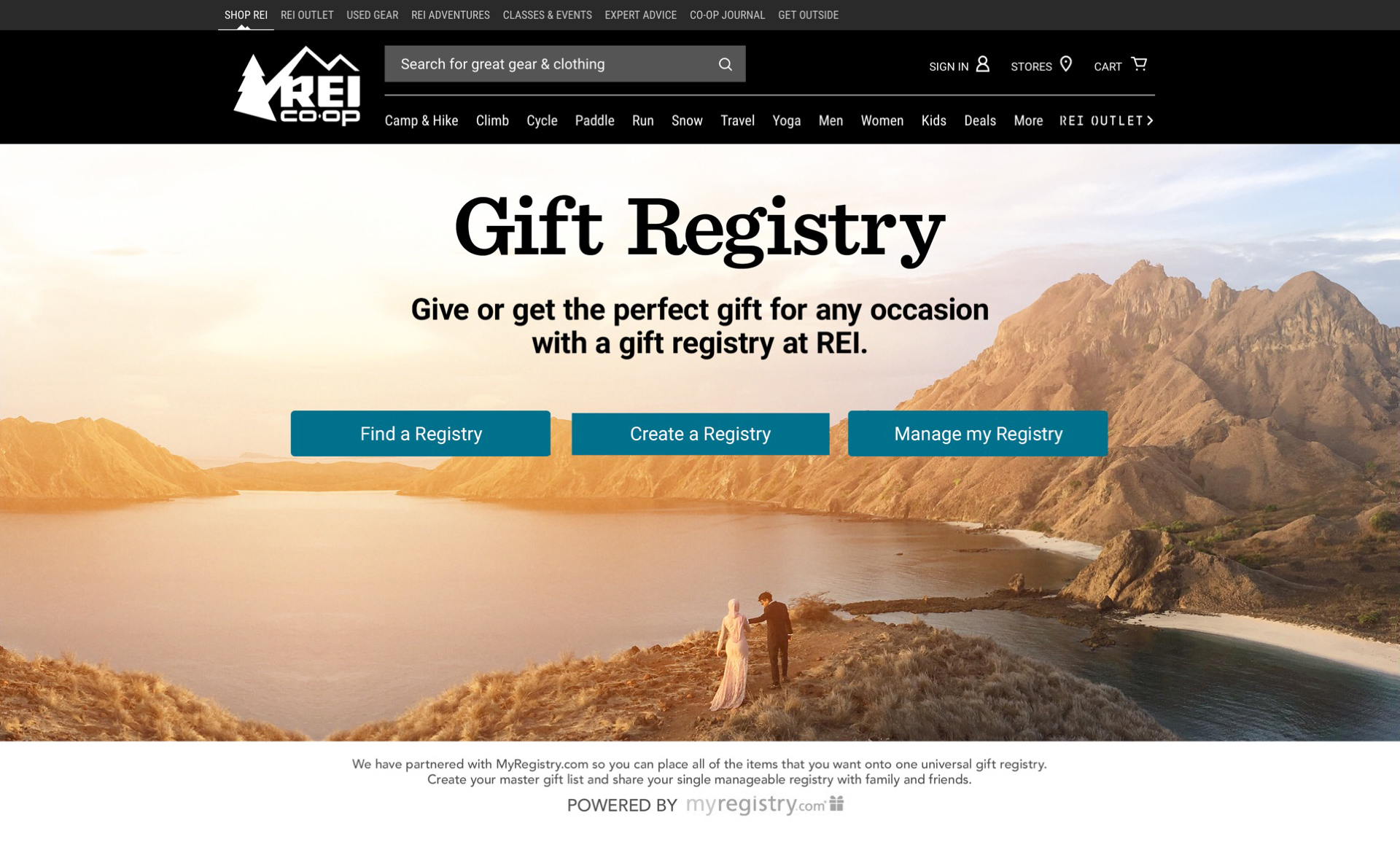Rei Wedding Registry.Rei Lori Neuhardt