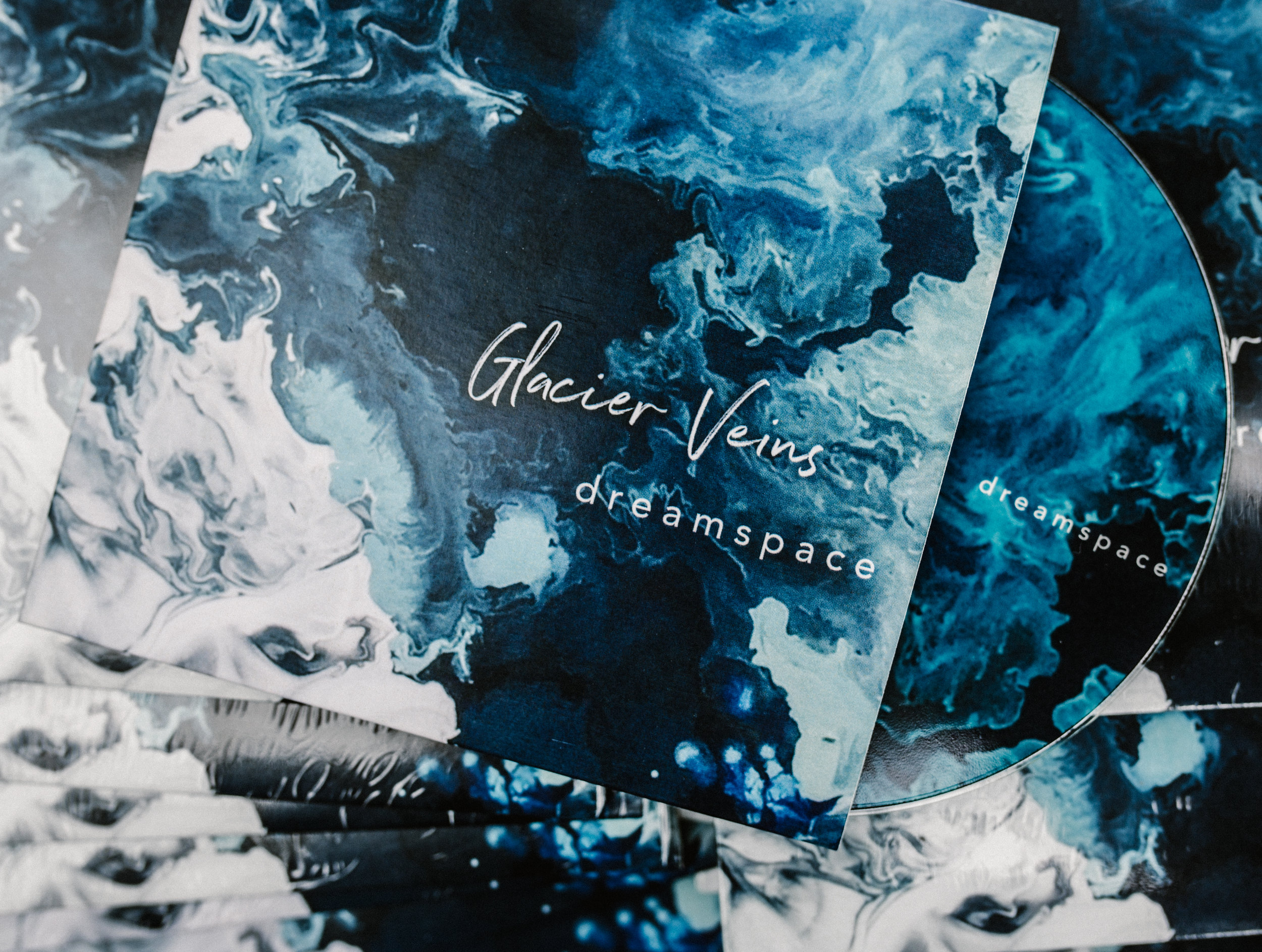GLACIER VEINS 'DREAMSPACE' CD - $5