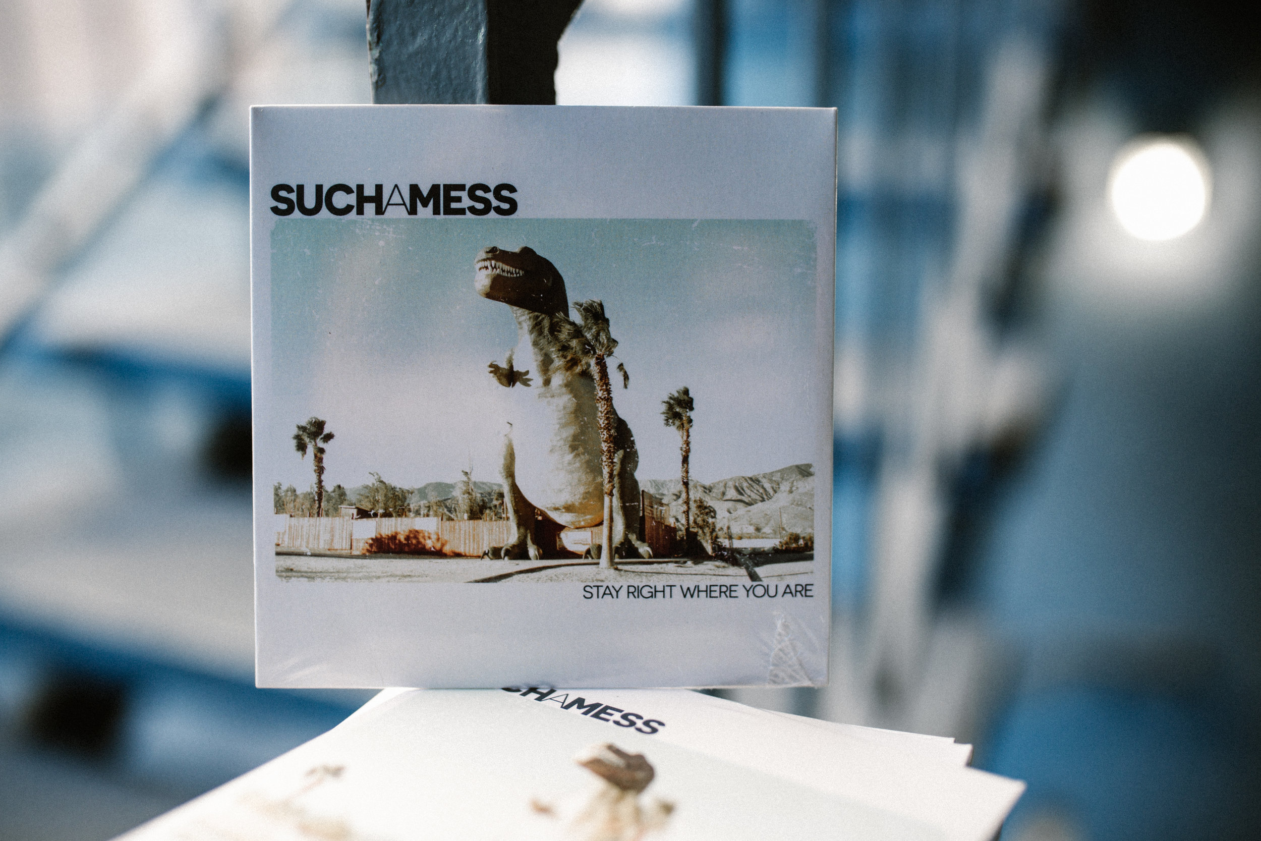 SUCH A MESS 'STAY RIGHT WHERE YOU ARE' CD - $5