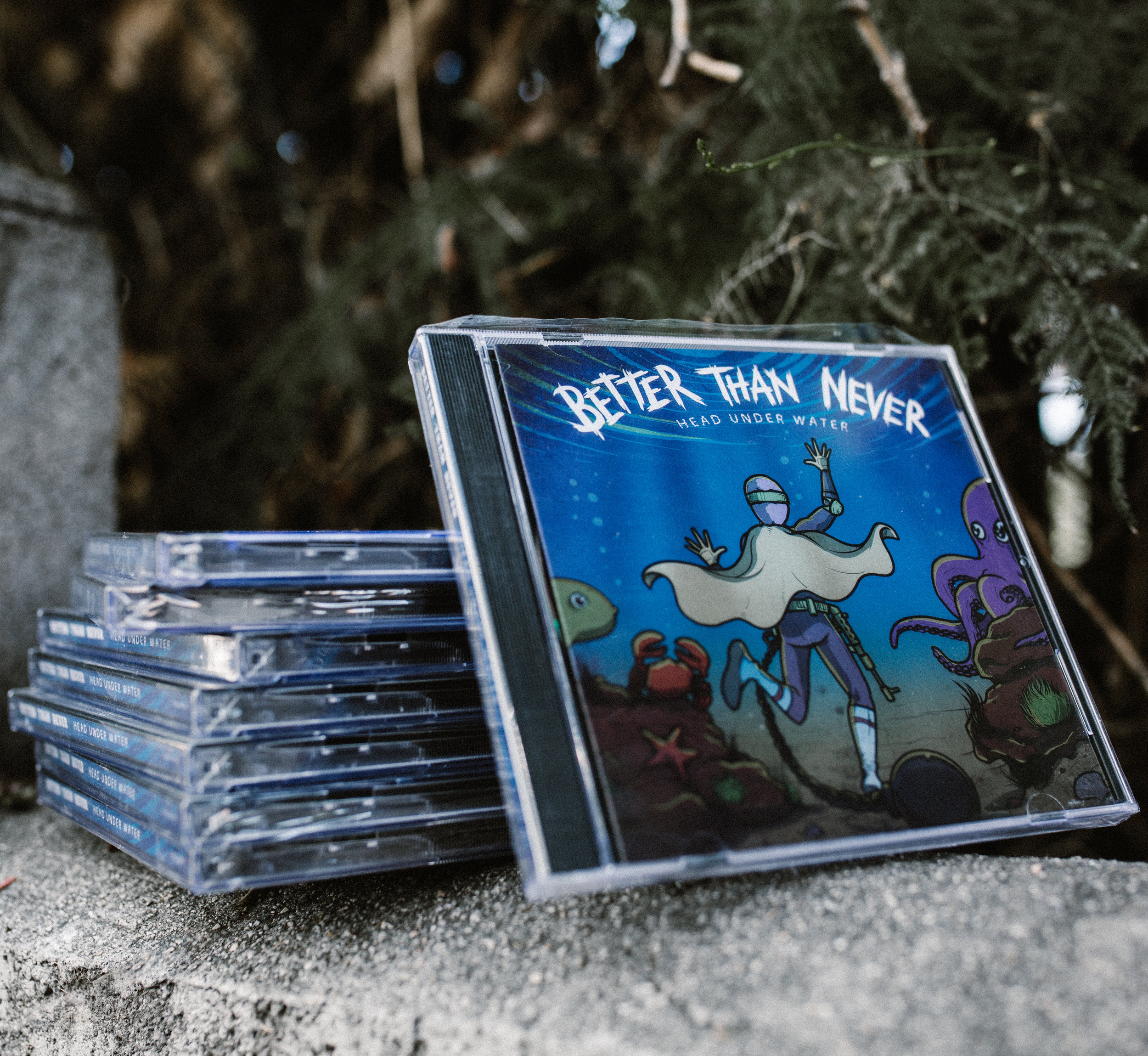 BETTER THAN NEVER 'HEAD UNDER WATER' CD - $6
