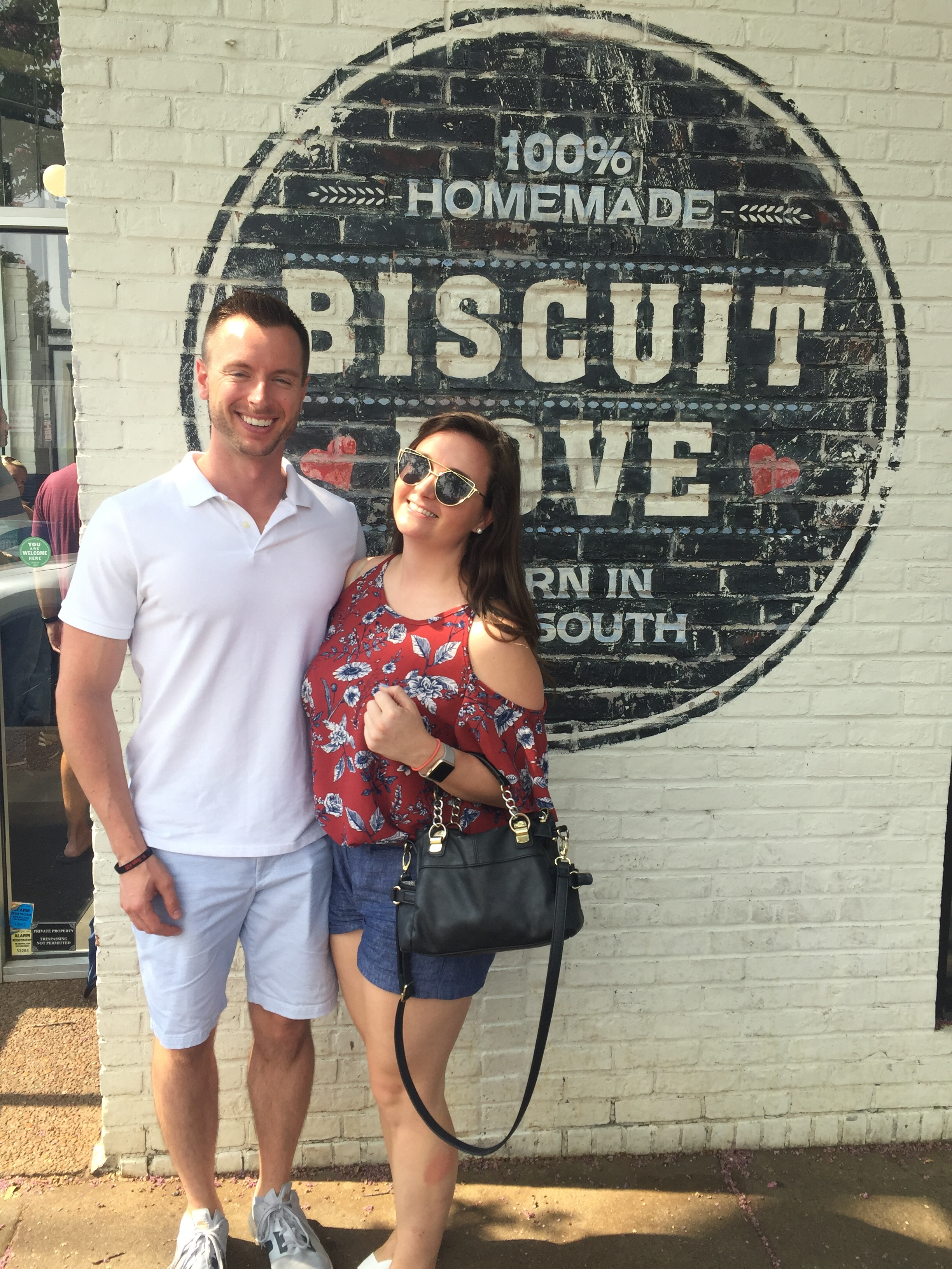 When one of your best friends stops in town, biscuits are in order!