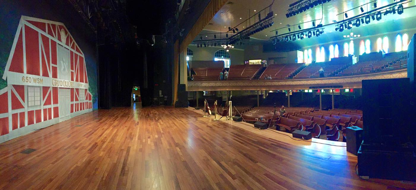 Snapped on a tour of the Ryman Auditorium.