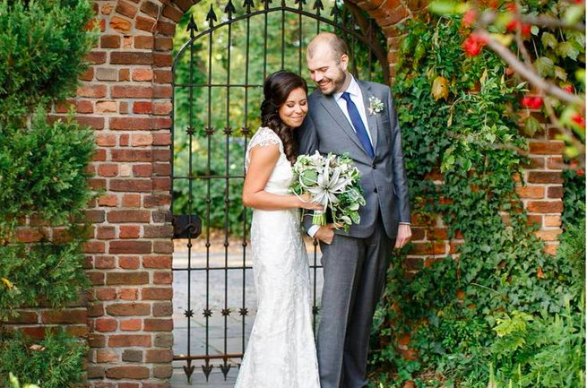 BOTANICAL WEDDING AT THE HERMITAGE MUSEUM AND GARDENS
