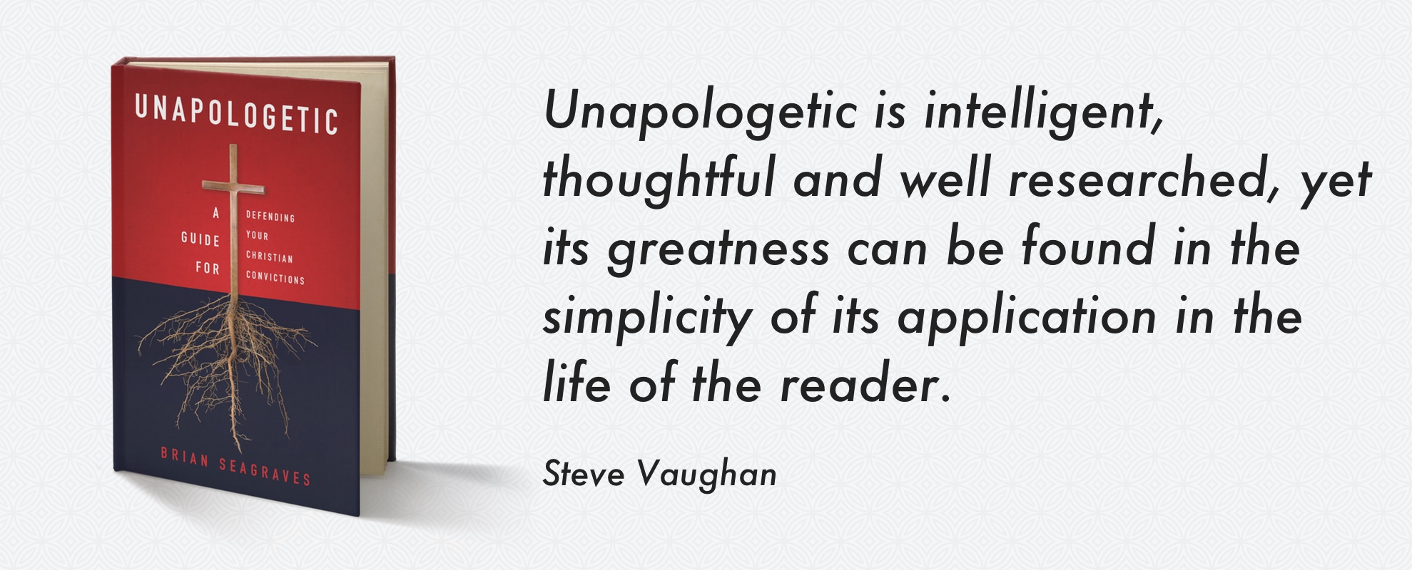 Preorder the book, Unapologetic, on Amazon