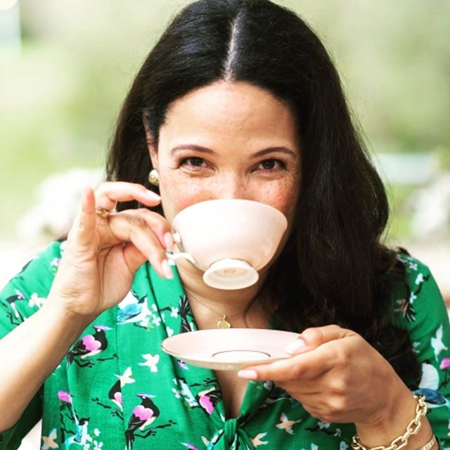 When drinking tea, pinky up or pinky down?  Come for Champagne, Afternoon Tea & Etiquette on Sunday, June 9th in the historic gardens at The Inn at Fernbrook Farms @fernbrook.farms for a fun day of etiquette do's and dont's. 📷 @tismanphoto  Ps who thinks they know the answer? . . . . . #etiquette #afternoontea #teainthegarden #manners #champagneteaparty #teaparty #historicgardens #vintagelenox #teatime