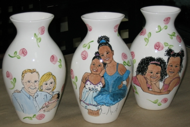 Special Valentine's Flower Vases