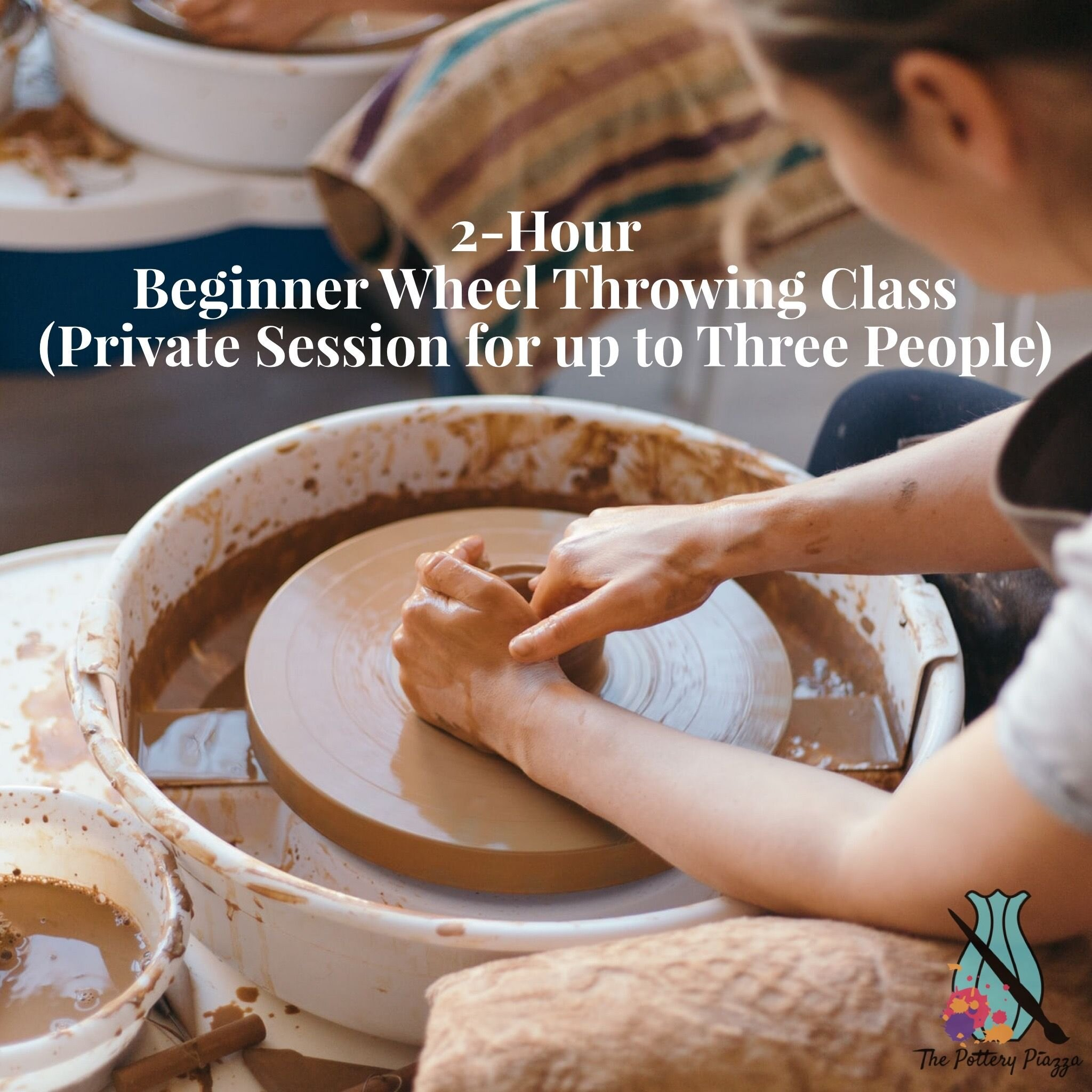 Saturday February 13th 12 30 2 30pm Private Session For 1 3 People The Pottery Piazza