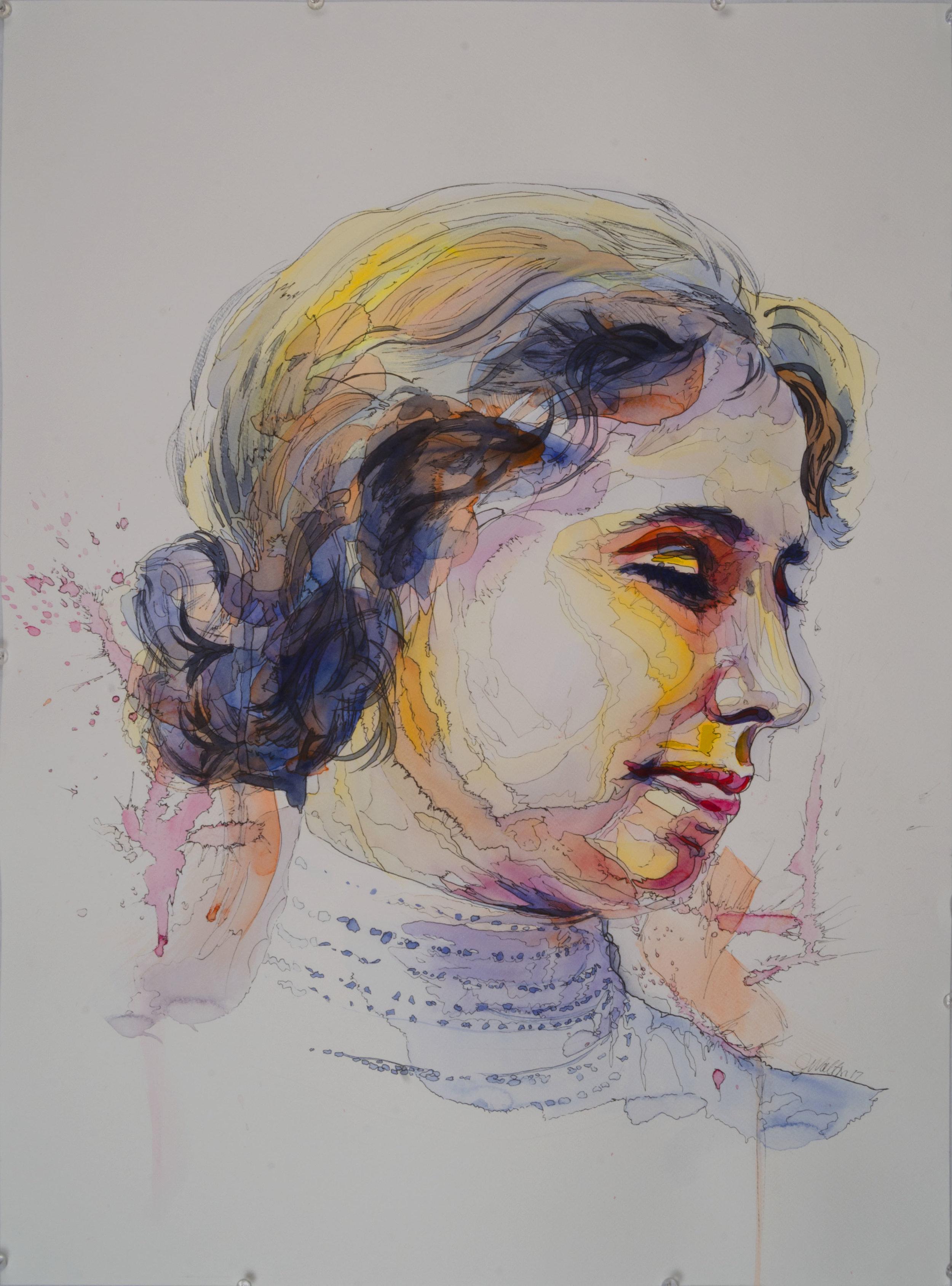 Portrait of Helen Keller