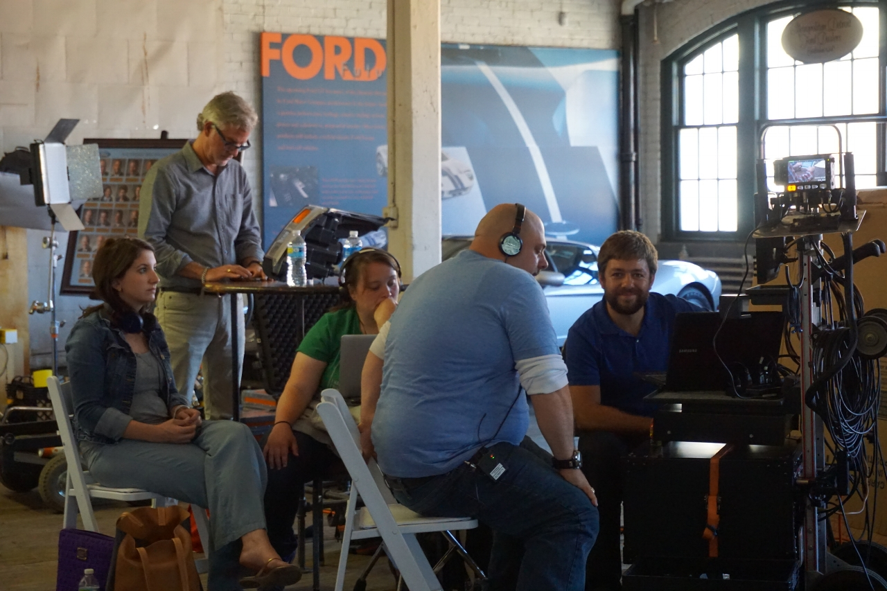<strong>Working hard at Ford Piquette Plant</strong>