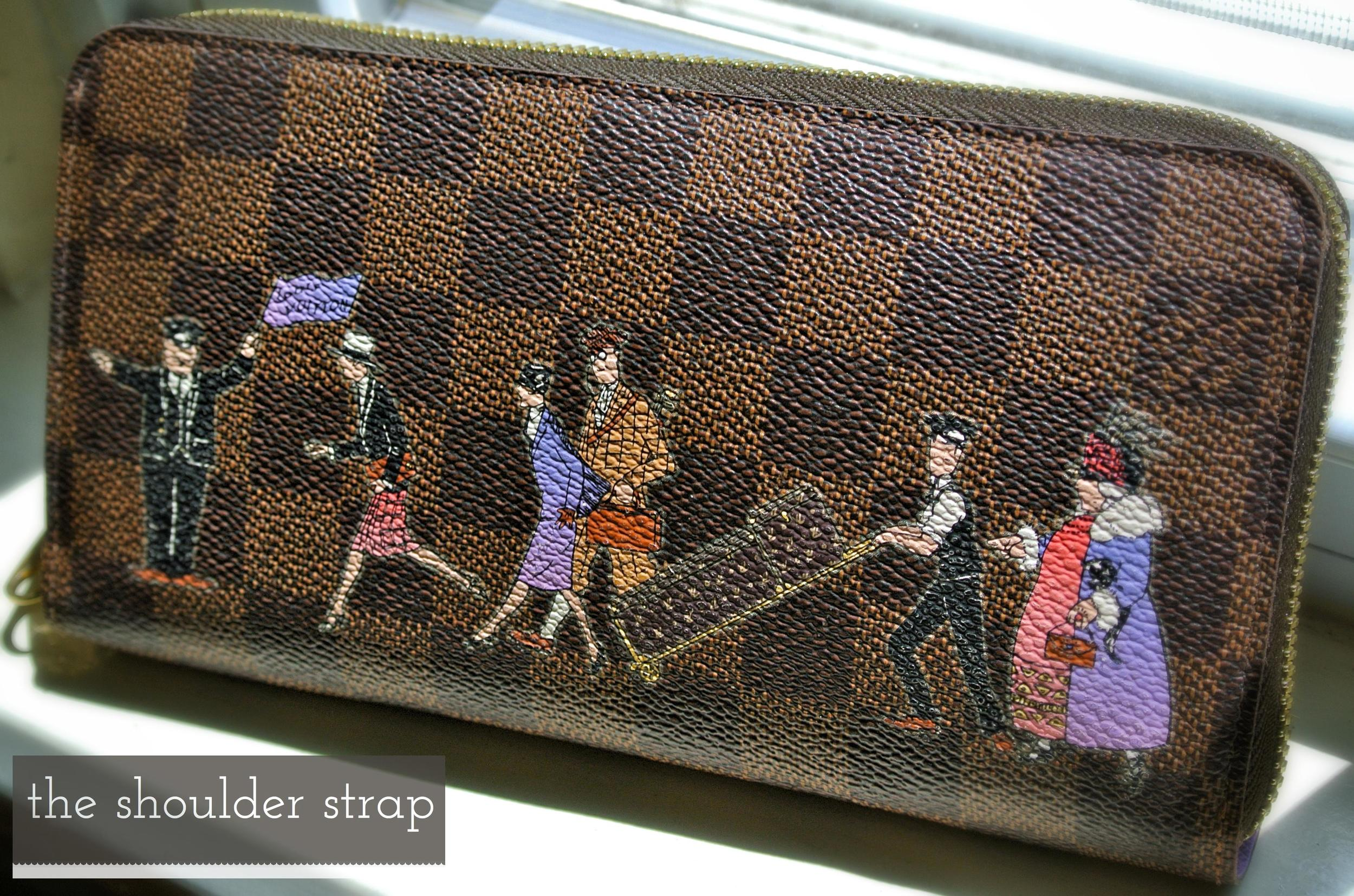 Louis Vuitton Zippy Wallet Illustre