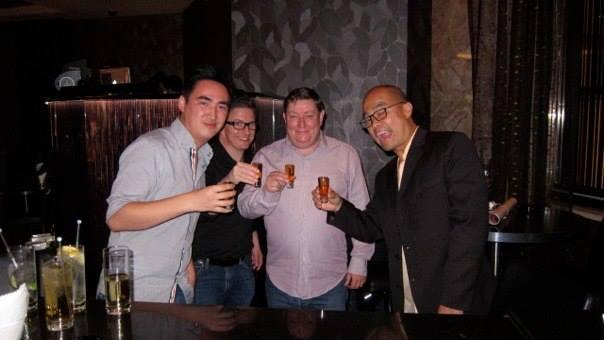 Working with John Moloney in Macau