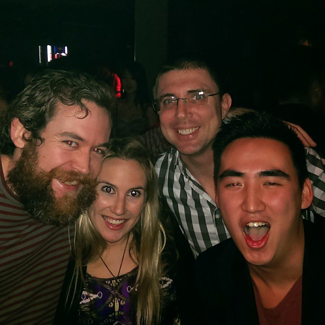 Post show parties with some of my favourite people in the world.