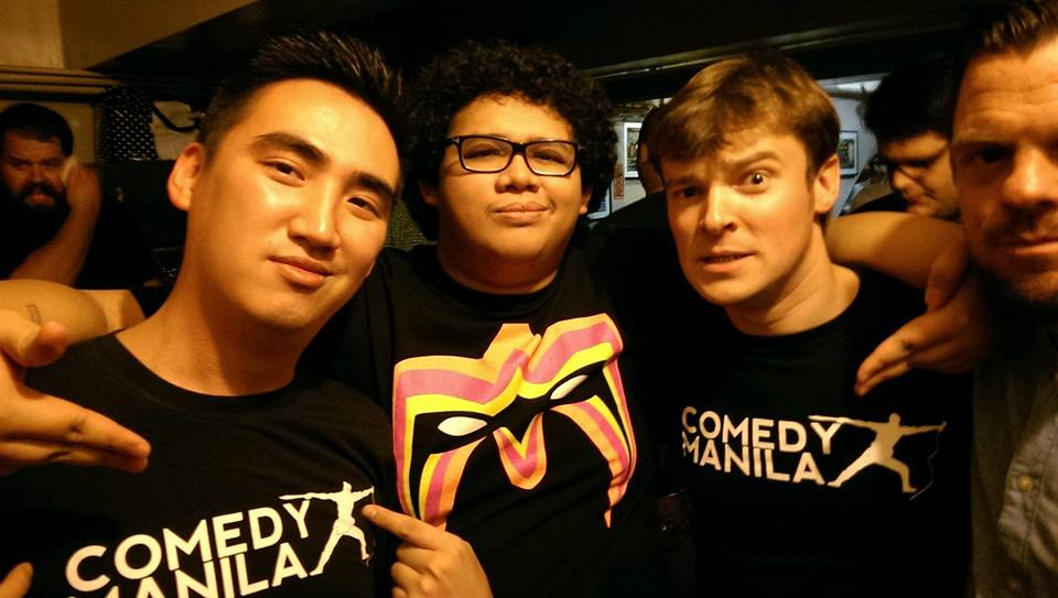 Supporting Comedy Manilla with one of our Pinoy favourites, Red Ollero
