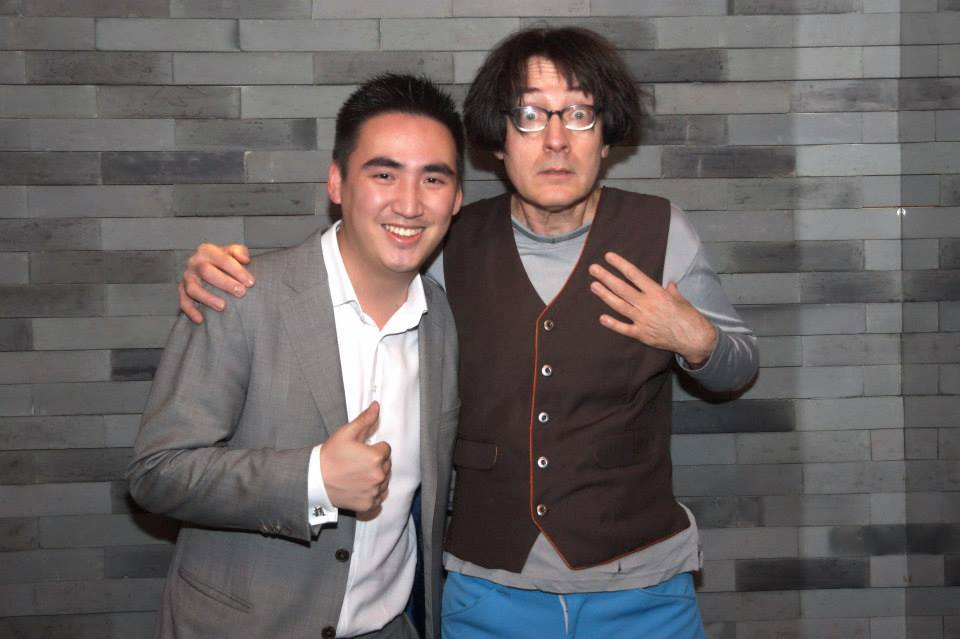 Got to perform with the legend Emo Philips! One of the most humble guys in the industry