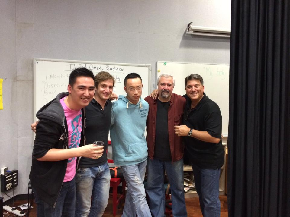 Discovery College Fundraiser Show with Anthony Solomini, Pete Grella, Tamby Chan and Nick Oliver.