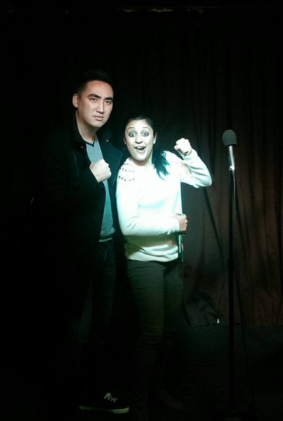 Opening for Aastha Lal on hr first one-woman show. Not a bad way to debut in Toronto