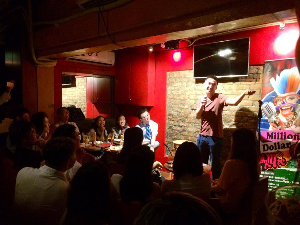 Cantonese comedy debut at Million Dollar Mic