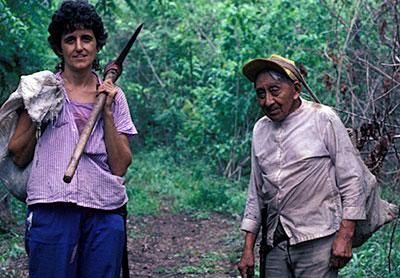My teacher Rosita Arvigo & Don Elijio in Belize