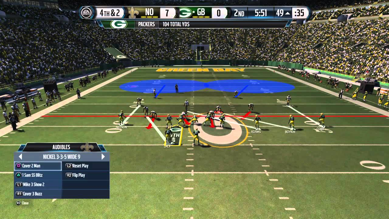 Every year, Madden games get away with being mostly roster updates with minor gameplay improvements because the game is guaranteed to be widely played regardless of quality.   PHOTO CREDIT:  ©  EA