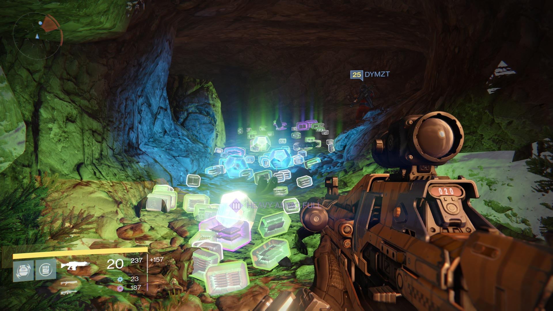Destiny's loot cave was one of the early reasons why the game's item drop rate was tweaked, even though players were getting weapons and armor they wanted.   PHOTO CREDIT:  ©  Bungie