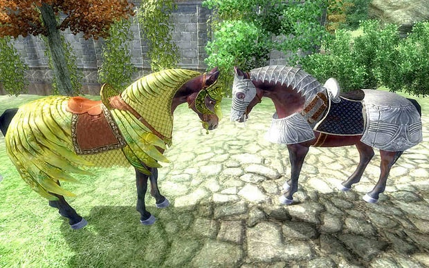 One of The early examples of console microtransactions came when Bethesda released DLC for The Elder Scrolls IV: Oblivion, which INCLUDED in-game Horse armor for $2.50.