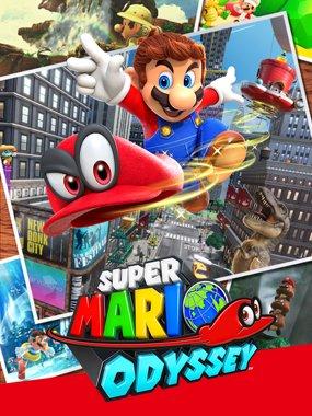 1. Super Mario Odyssey