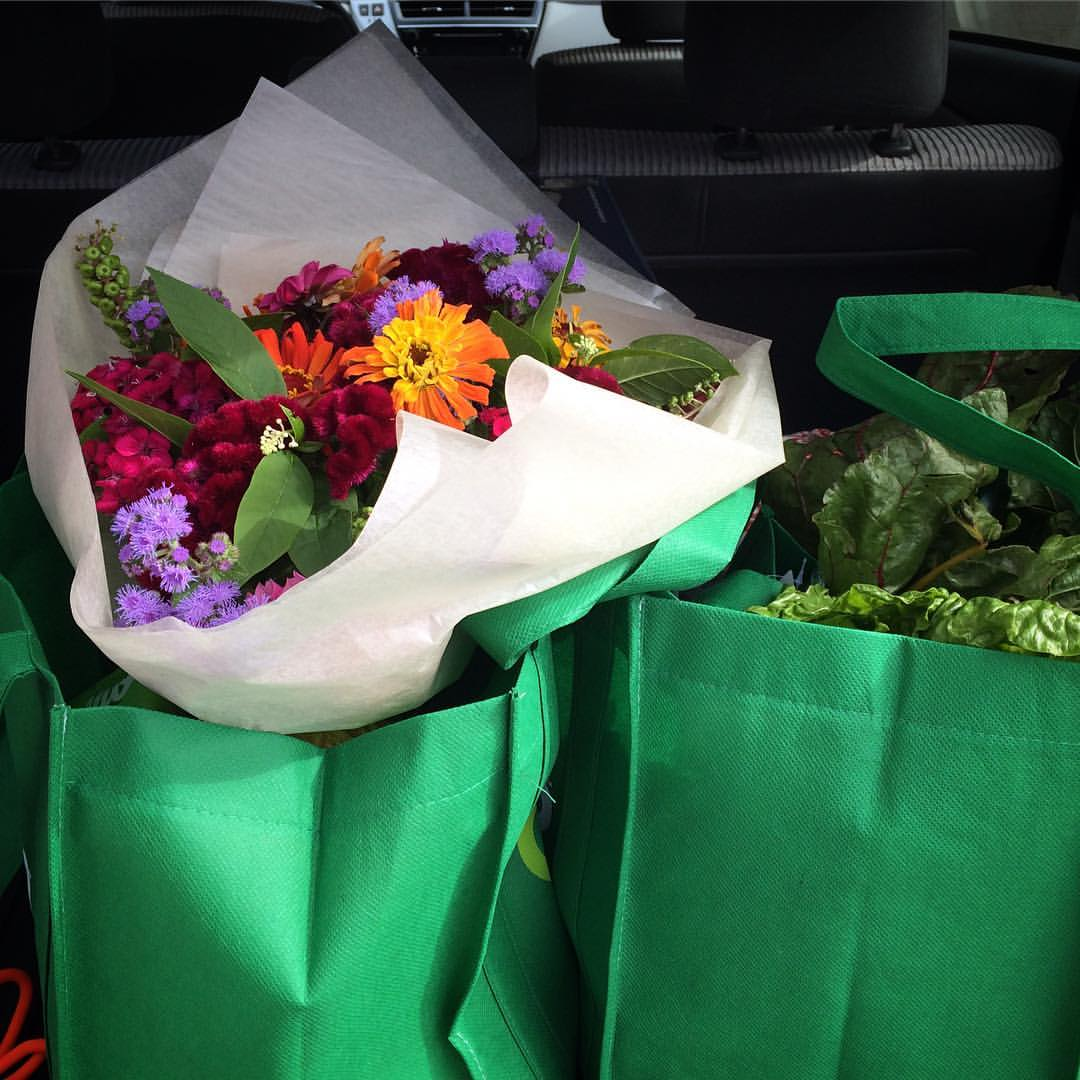 CSA bouquet in market bag.jpg