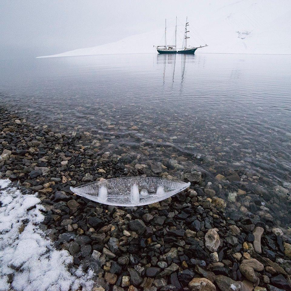 Ice Boat with Antigua  © Joshua Abarbanel