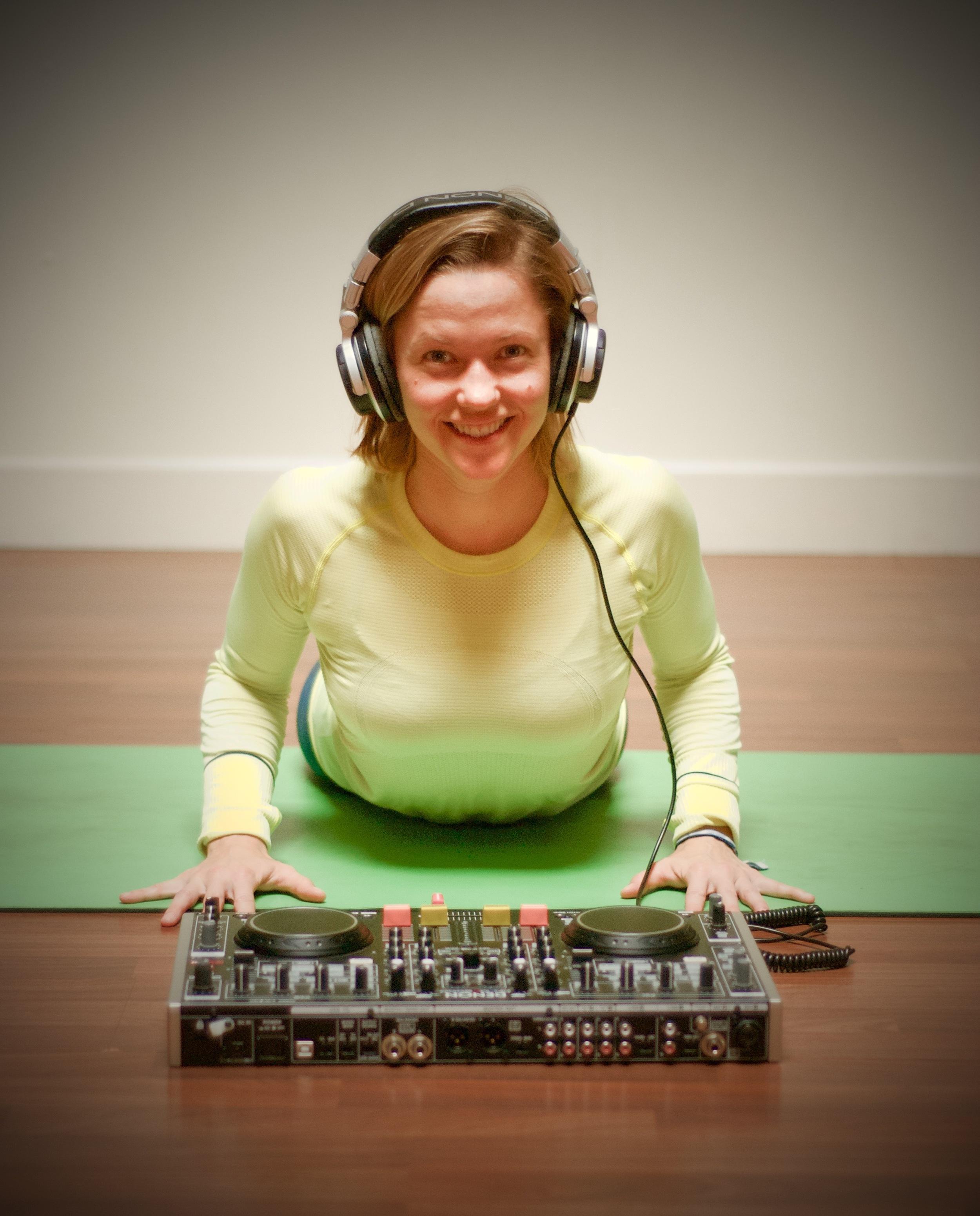 San Diego based yoga teacher, Helen Cloots.