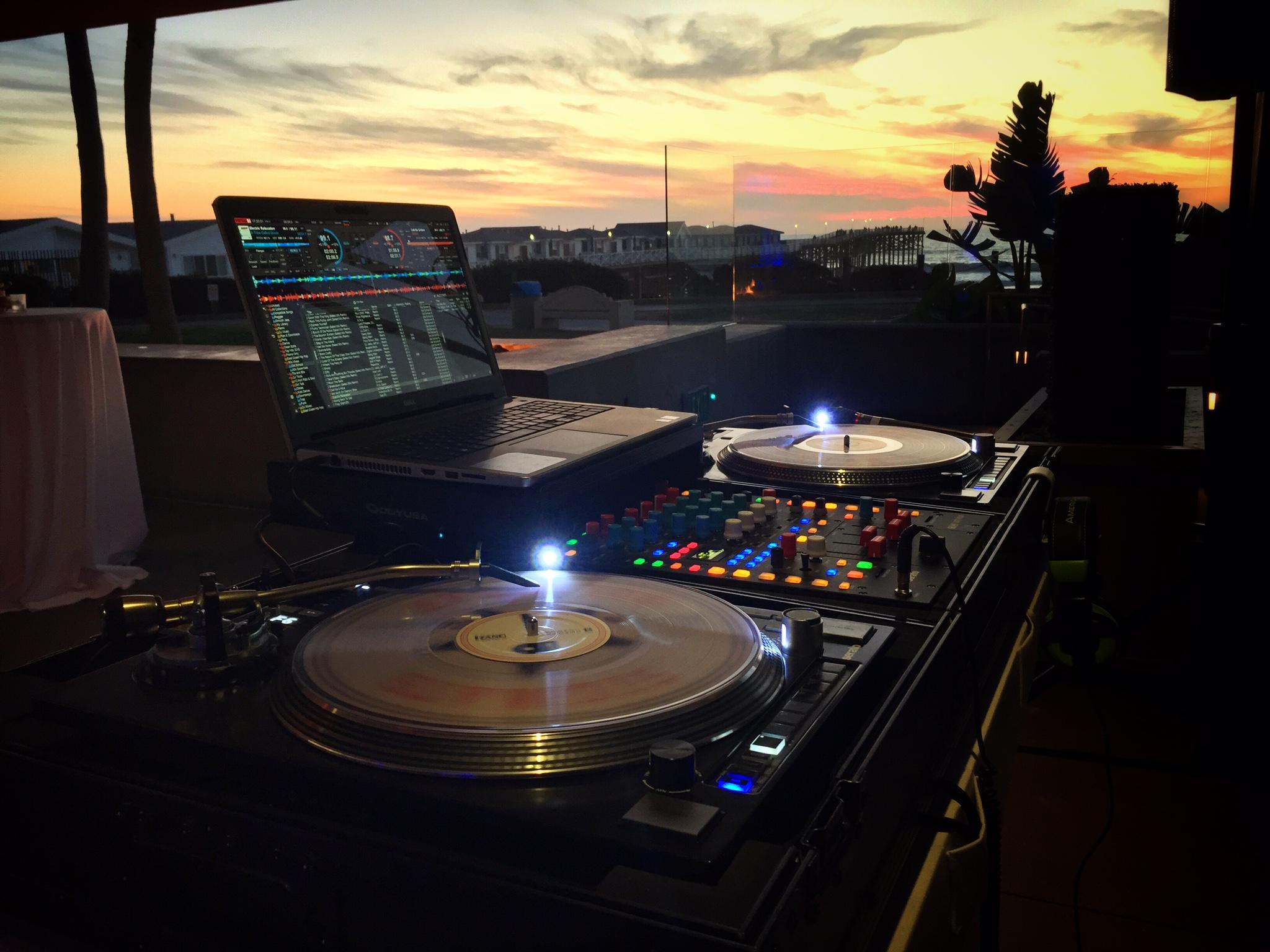 DJ Justin Kanoya provided live DJ service for Proven Recruting's 2015 Holiday Party at JRDN Restaurant.
