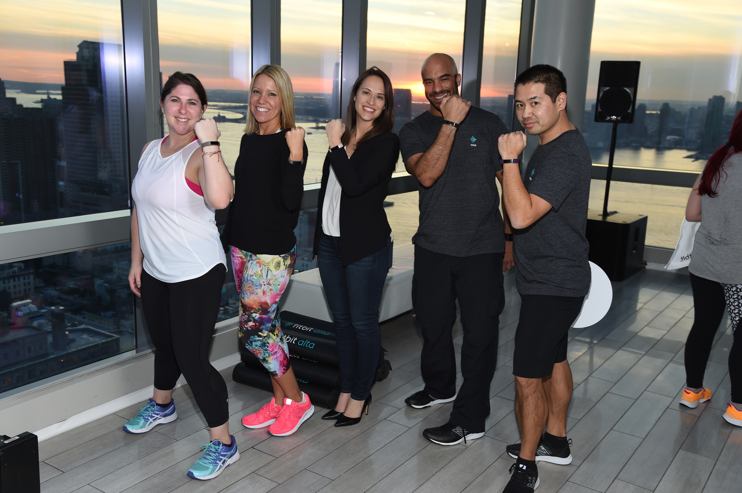 Congratulations to the Fitbit marketing and product development crew on the launch of Fitbit Alta.