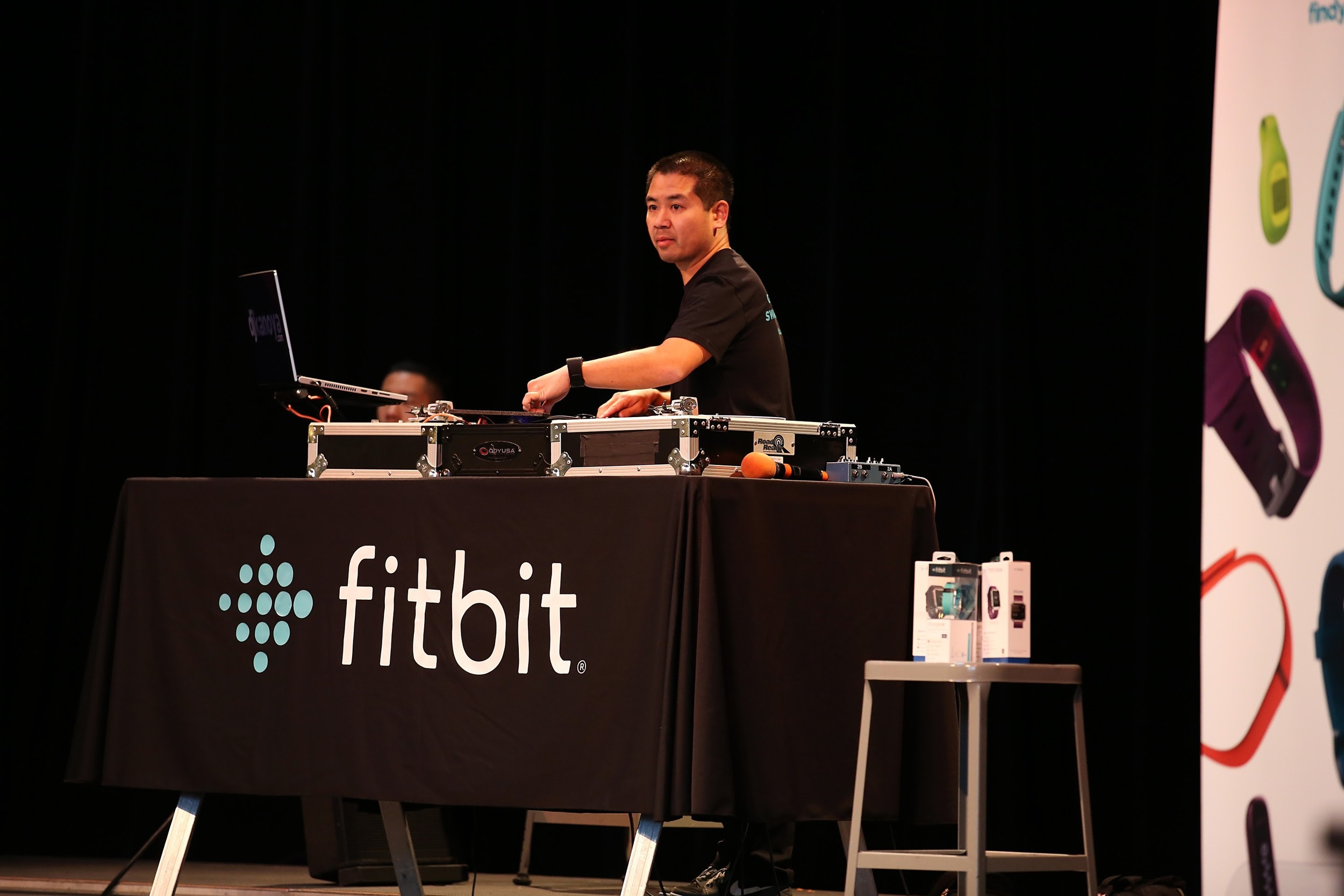DJ Justin Kanoya for Fitbit Local Seattle
