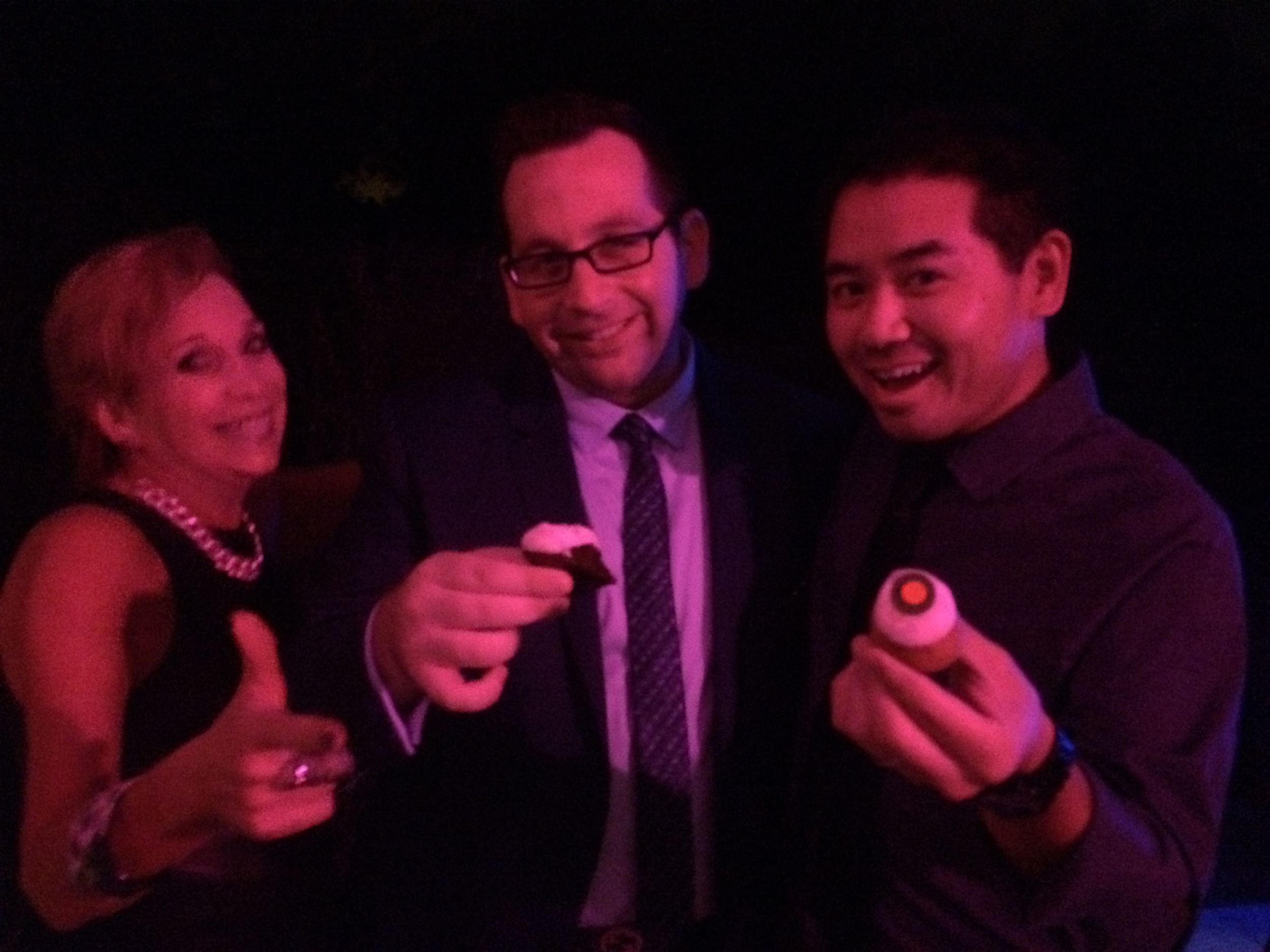 Sprinkles cupcakes were the perfect way to celebrate 30 years for Matthew.