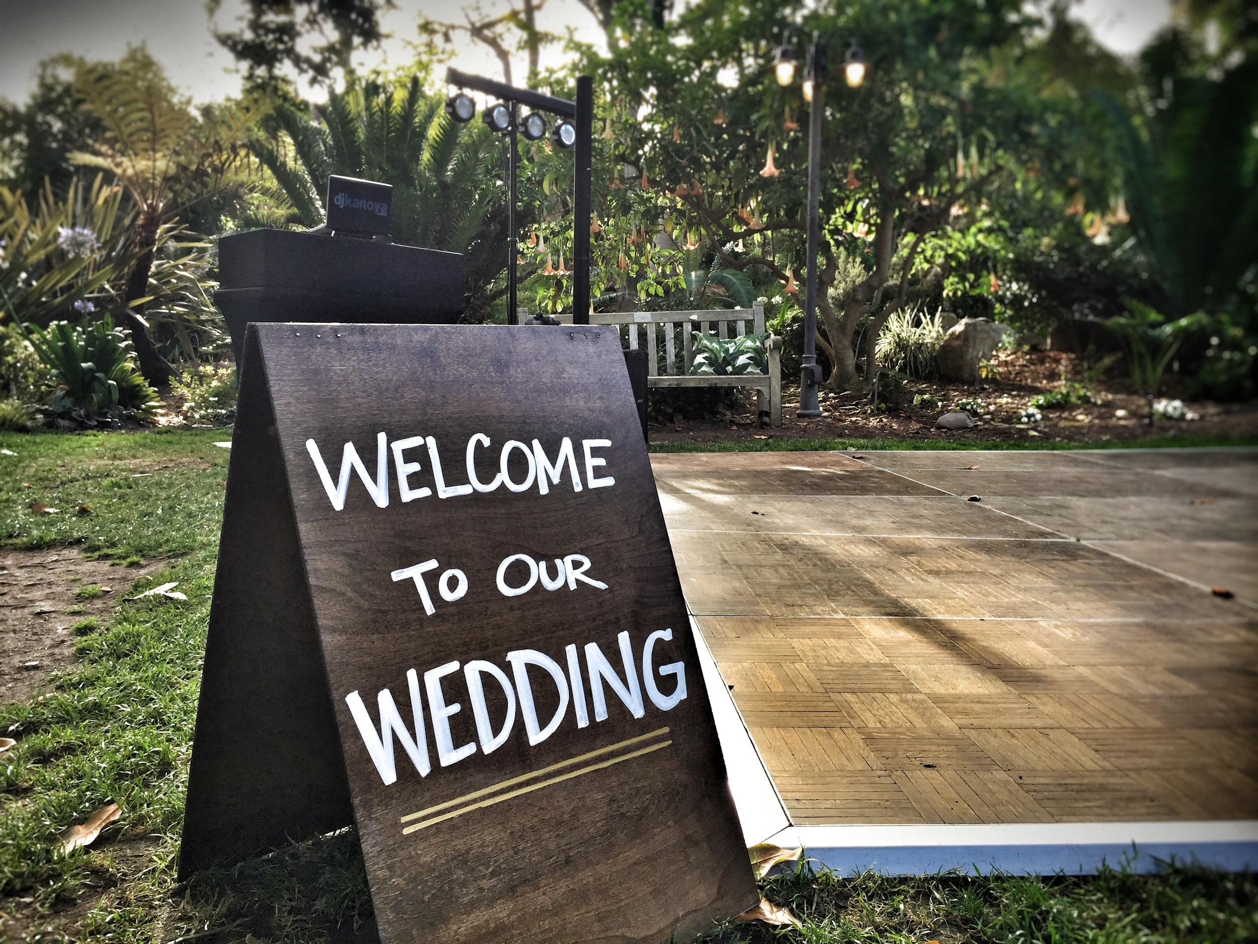 San Diego Botanic Garden Wedding