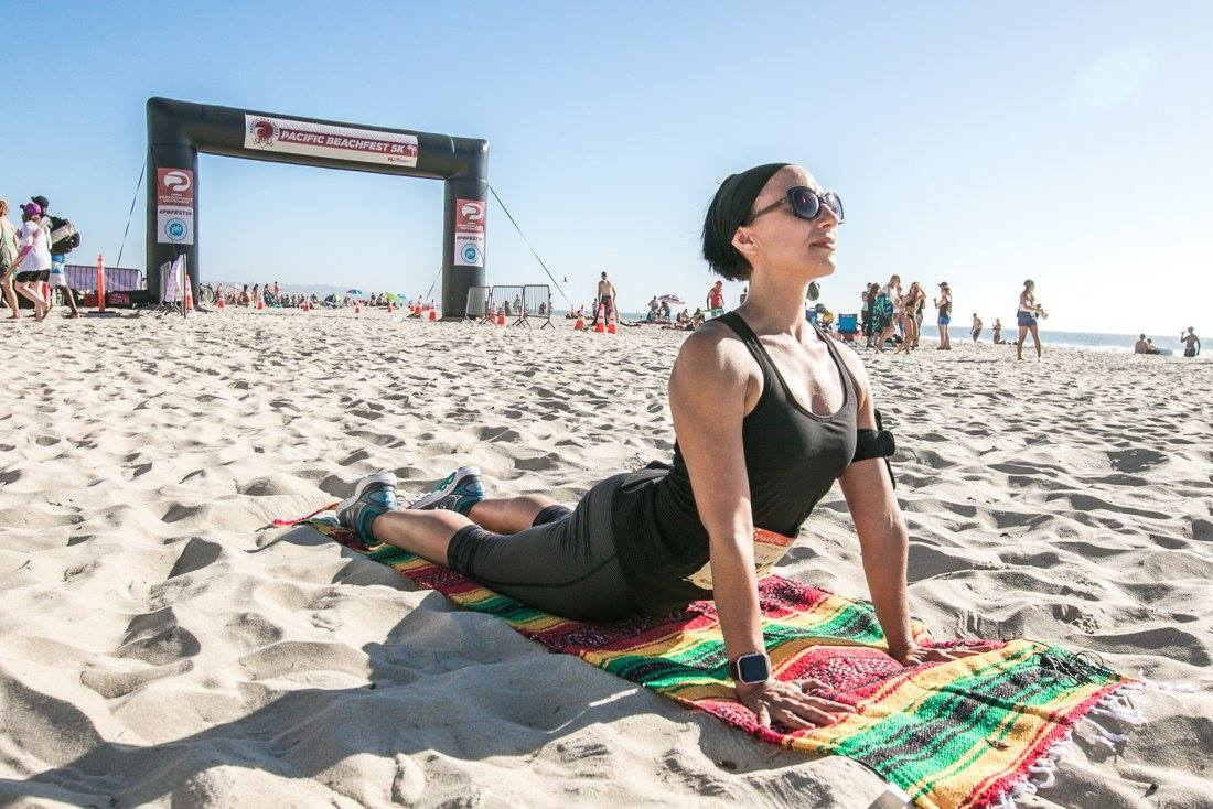 Pacific Beachfest Sunset Yoga and 5k took place on October 1, 2016.