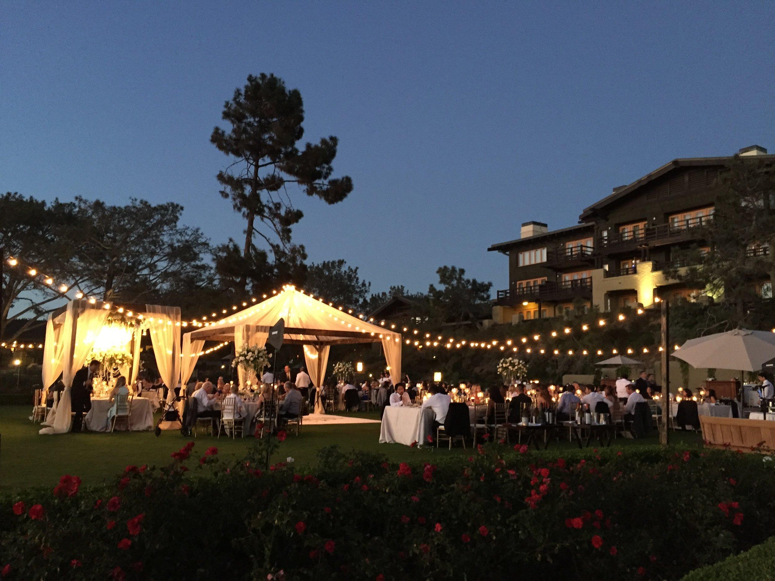 Lodge at Torrey Pines wedding