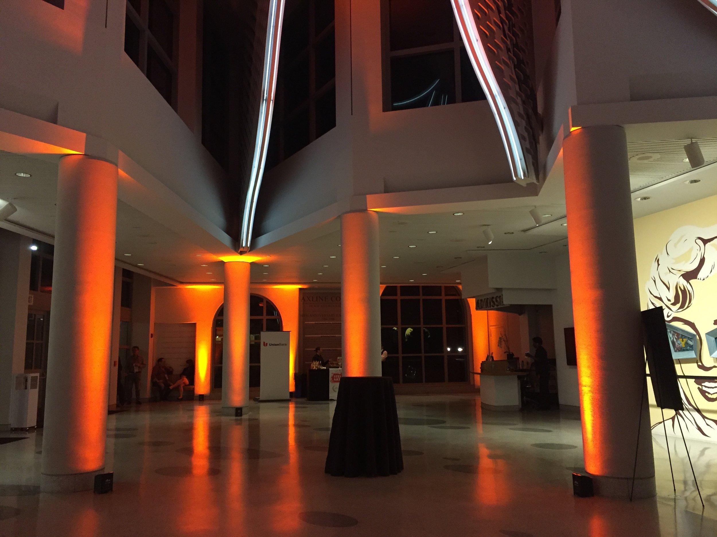 Museum of Contemporary Art Uplighting