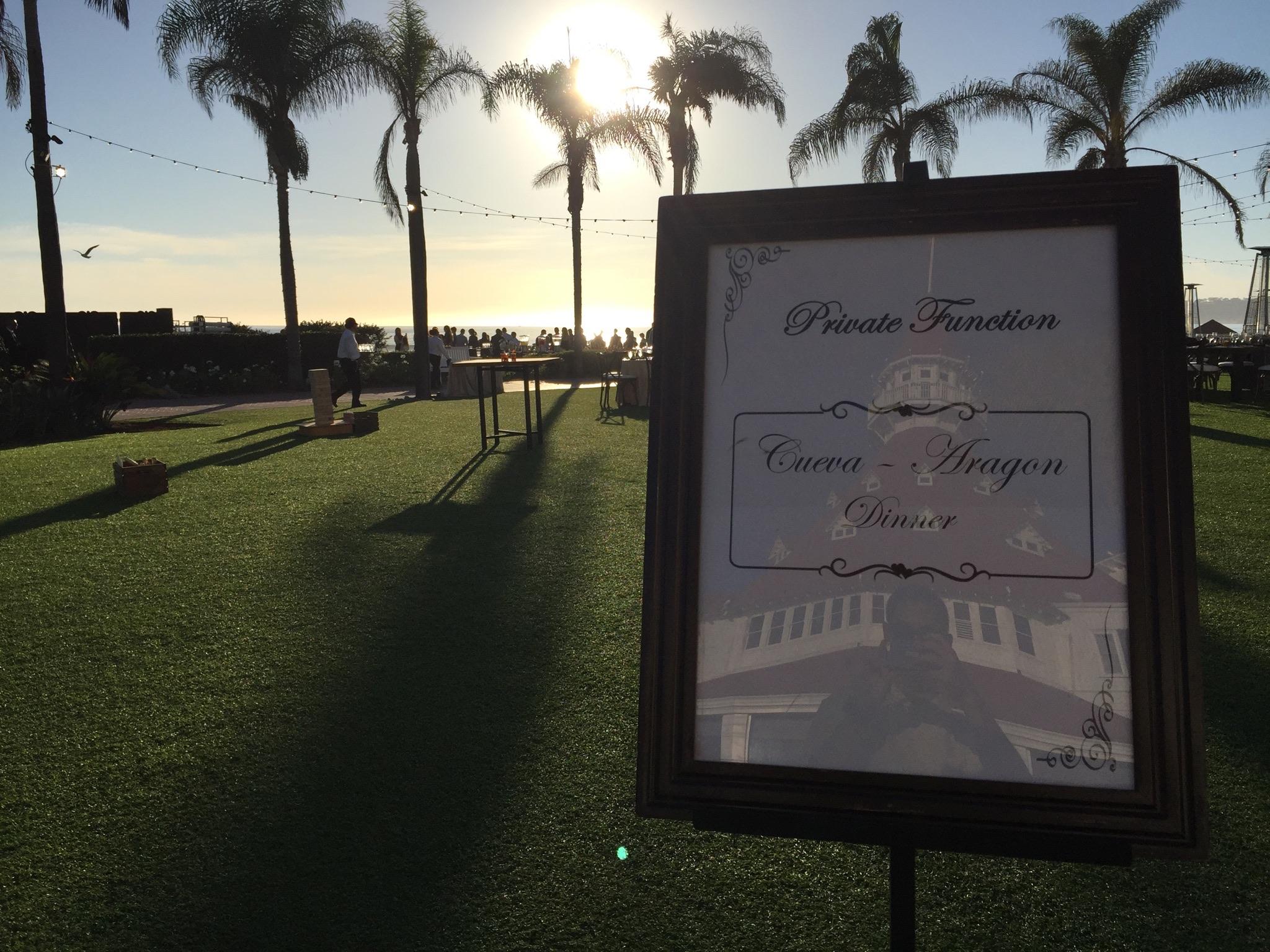 Hotel Del Coronado Windsor Lawn Wedding - DJ Justin Kanoya