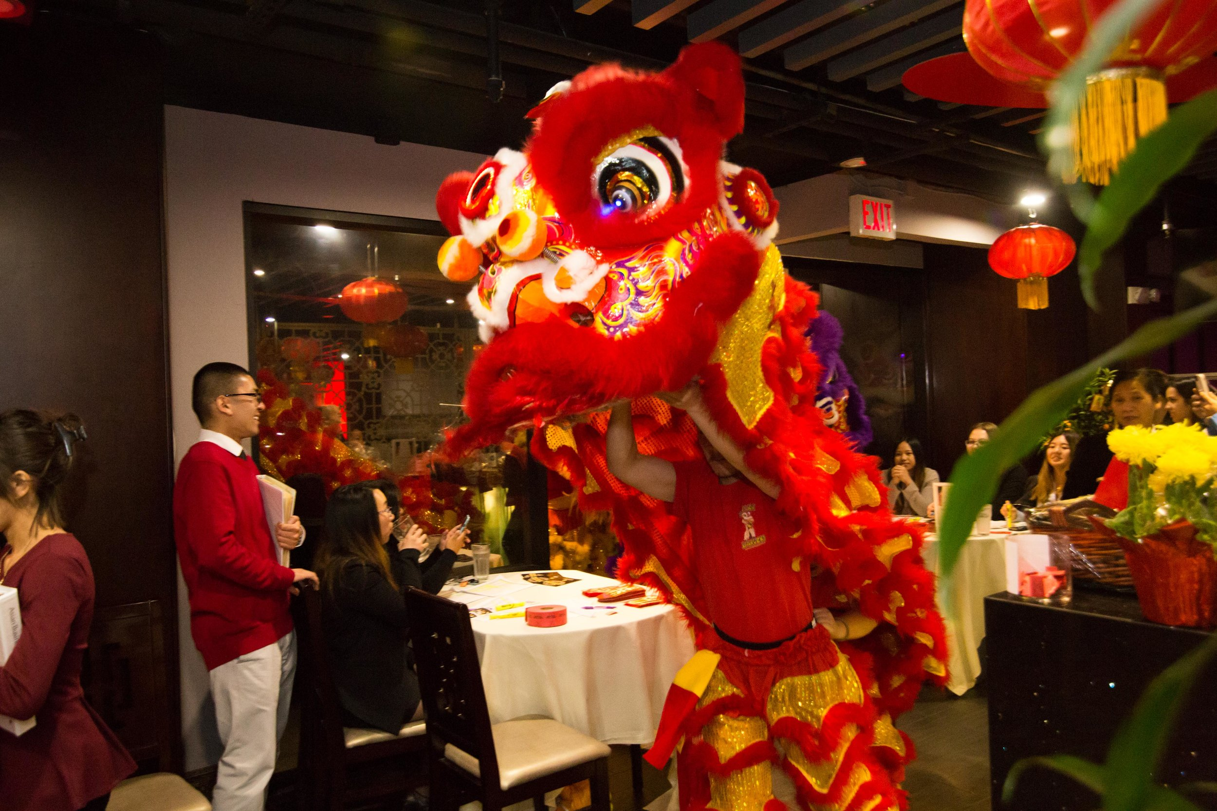 The San Diego ABA celebrated Chinese New Year at Emerald Chinese Cuisine.