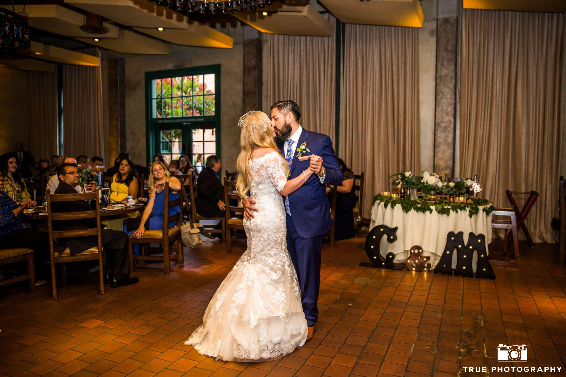 christina_marco_Stone Brewery Wedding_First Dance